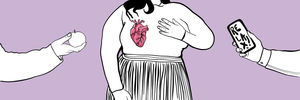 My heart condition was dismissed as me being fat and anxious